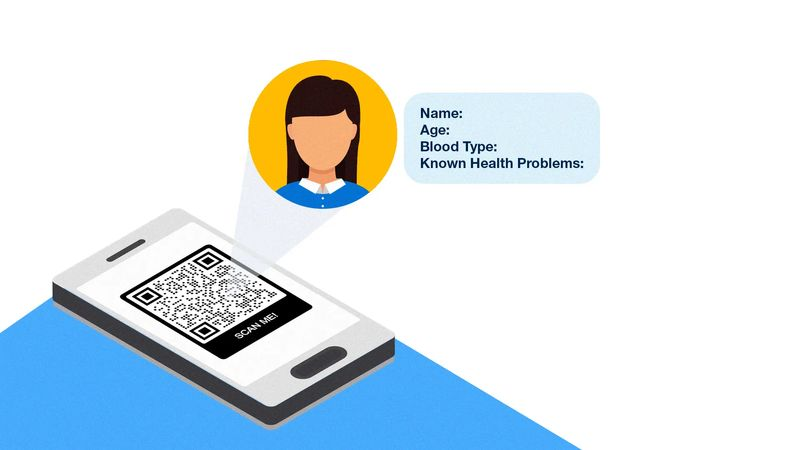 qr codes in health care identification