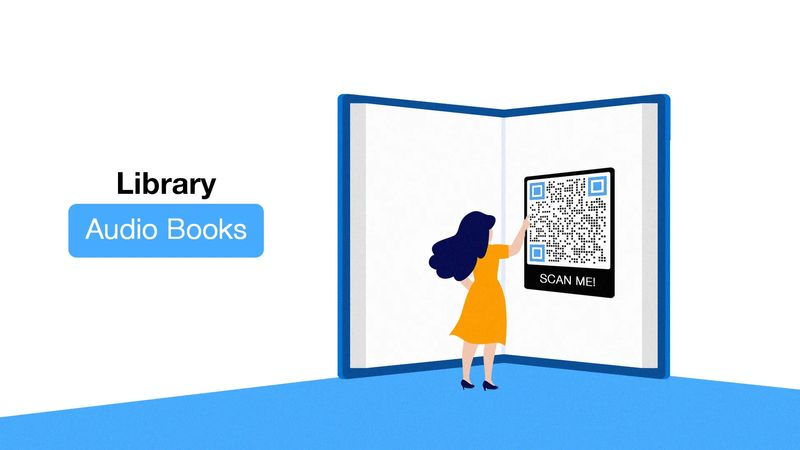 qr codes for library