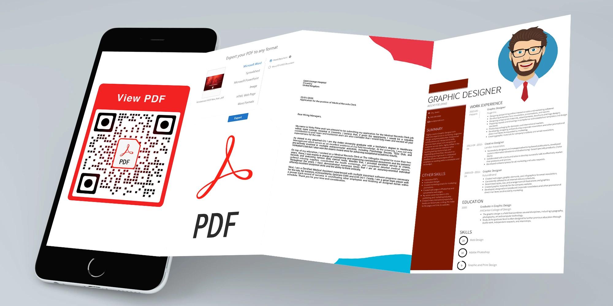 qr code frames pdf
