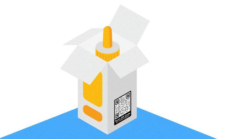 qr codes on drug packaging