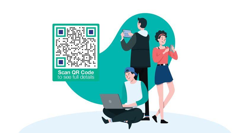 social media qr code advocacy