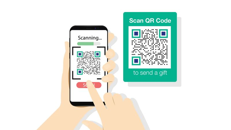 qr codes in china wedding gifts