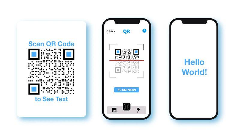 free qr code text