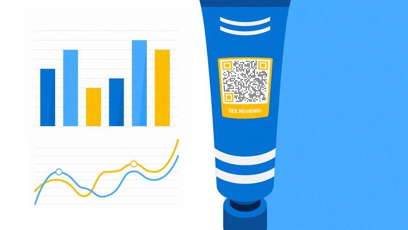 visual qr codes for customer insights
