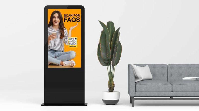 creative uses of qr codes video kiosks