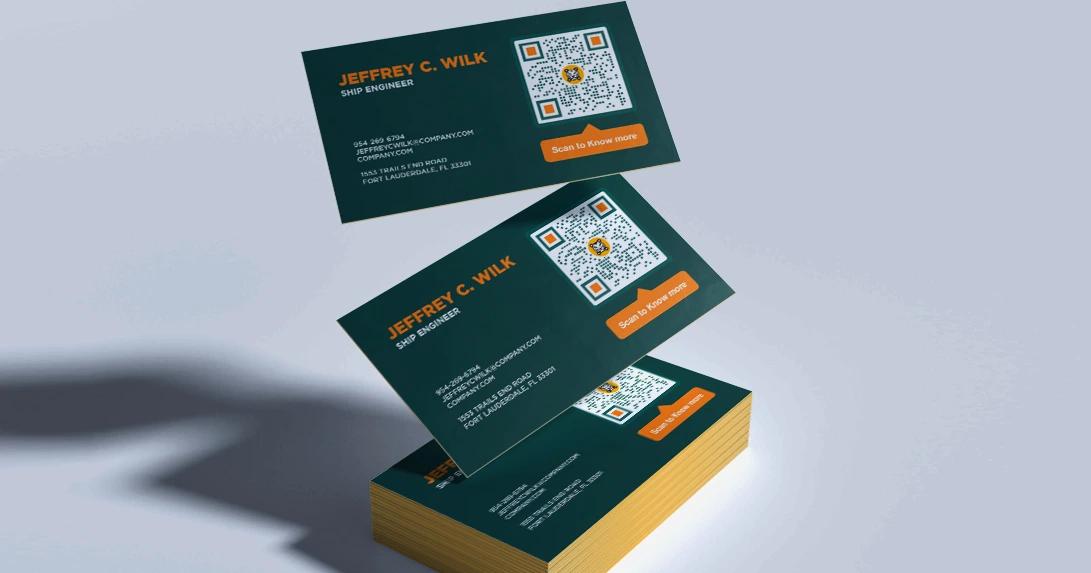 b2b sales business card