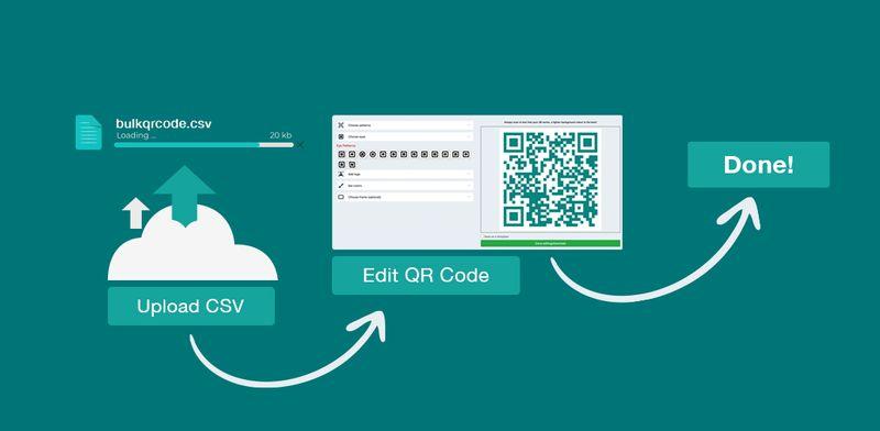 bulk qr code generator offline