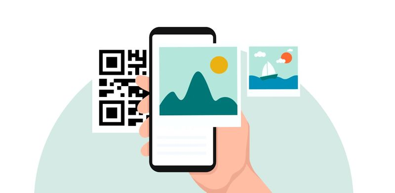 can we convert image to qr code