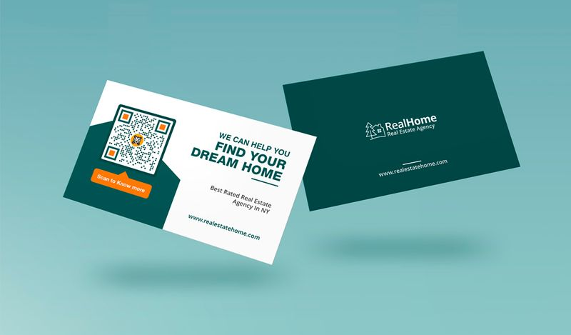 qr codes in real estate business cards