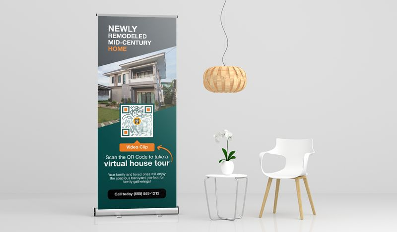 qr codes on real estate signs