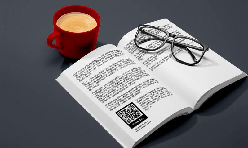 how to scan qr code in school books