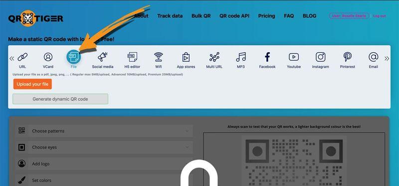 convert image to qr code