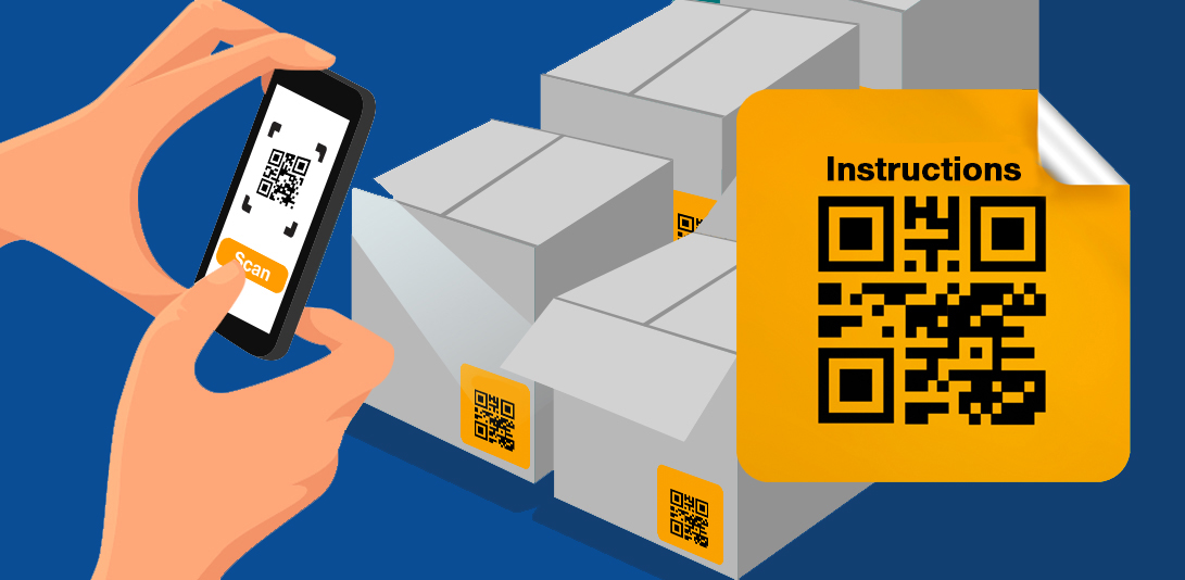 qr code for word document instruction