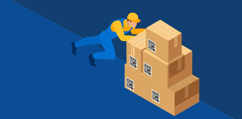 mail merge qr code