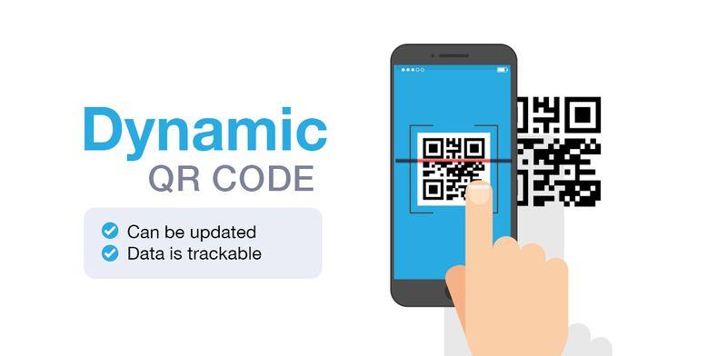 dynamic twitter qr code
