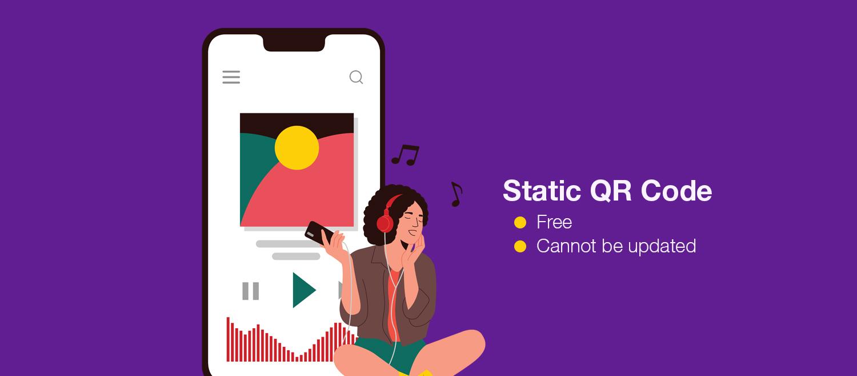 create qr code for audio file