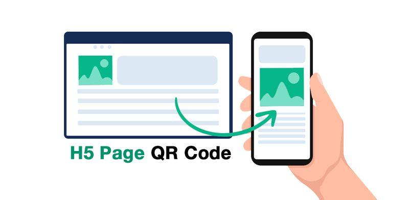 html qr code