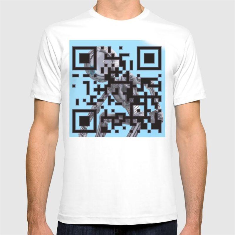 custom qr code tshirt
