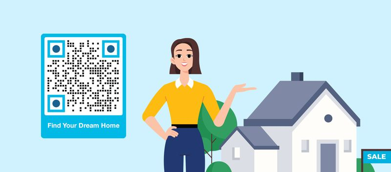 twitter qr code for real estate