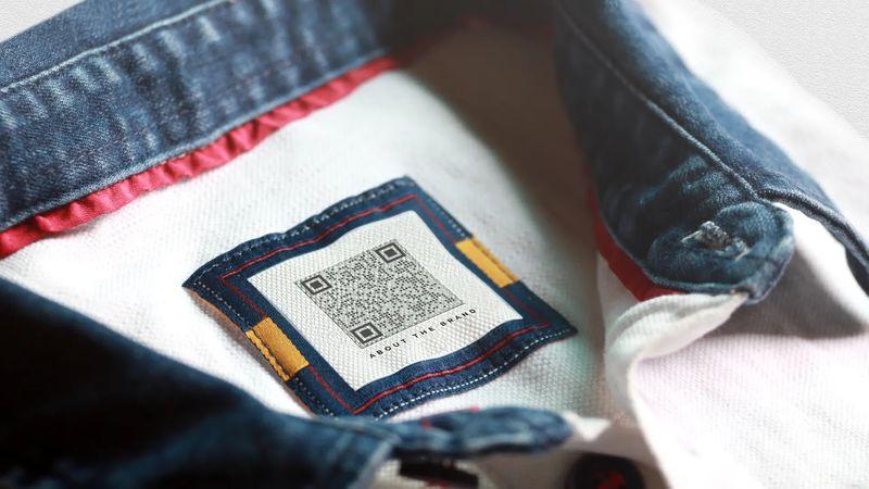 qr code on clothing