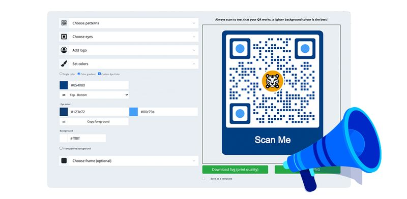 qr call to action