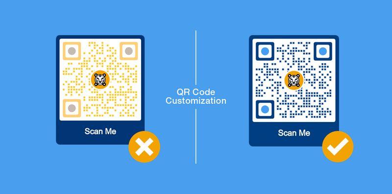 customize png qr code