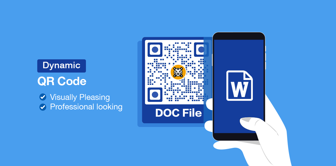 word document qr code