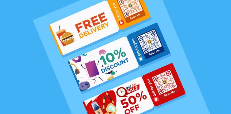 coupon qr code