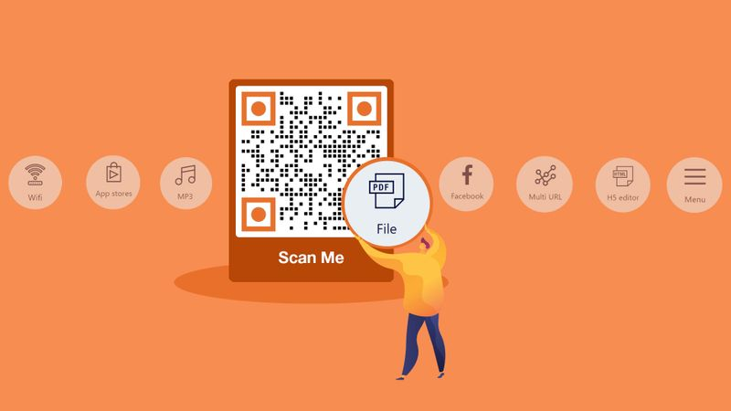 file to qr code