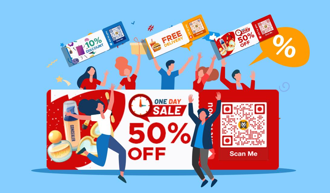 qr code marketing discount