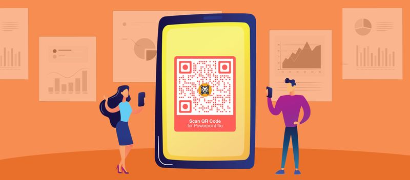 download file using a qr code