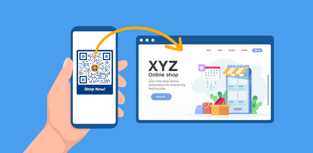 qr code online shopping