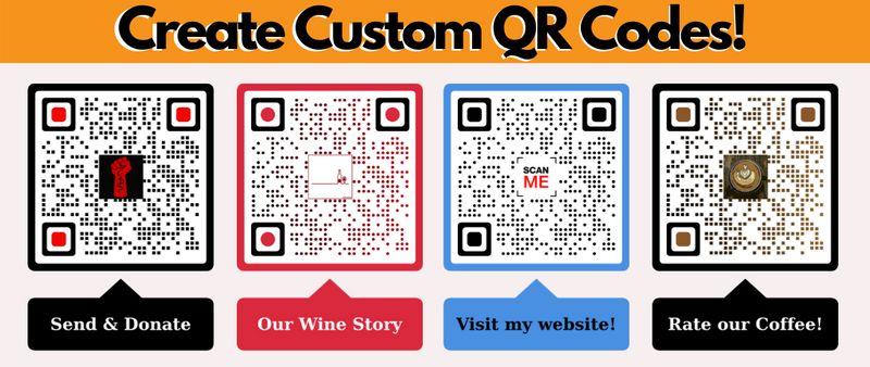 branded qr code custom qr codes