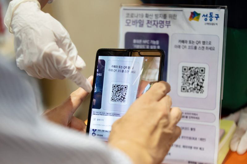 qr codes for contact tracing