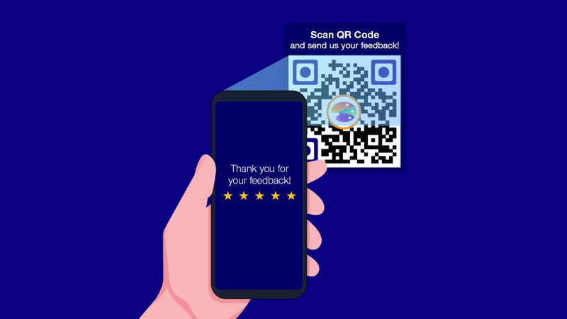 qr code for feedback forms