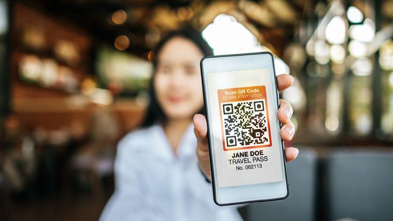 qr code travel pass