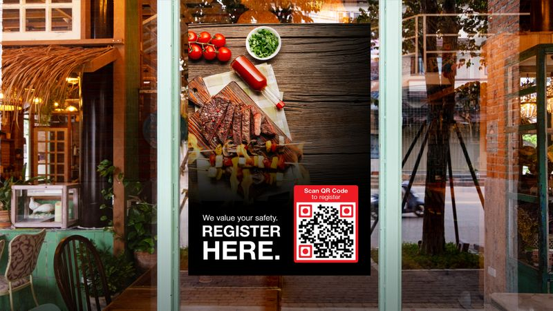 qr code for restaurant and cafe