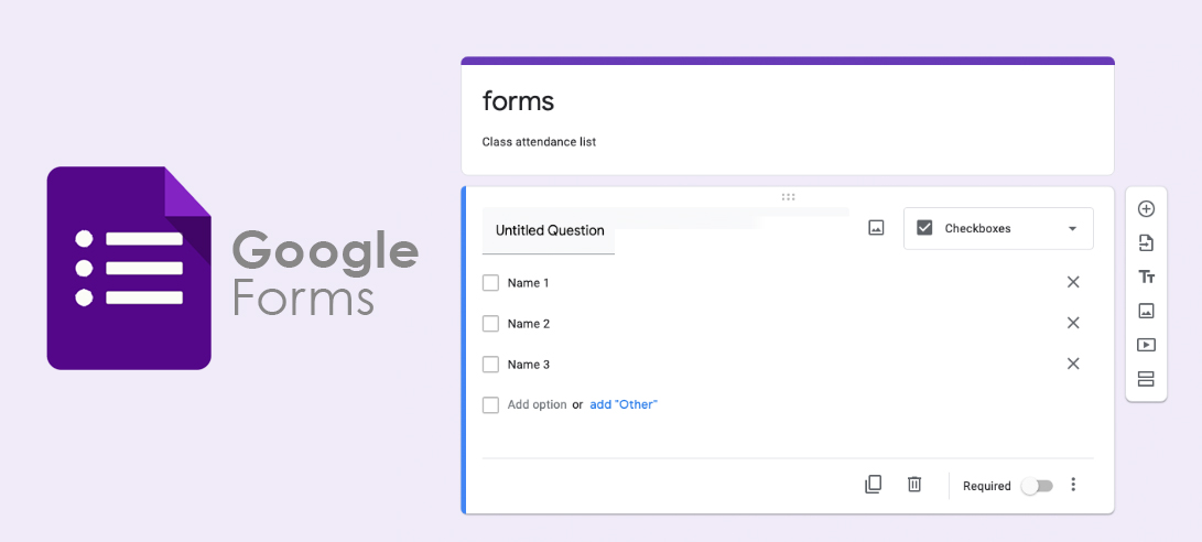 google forms qr code