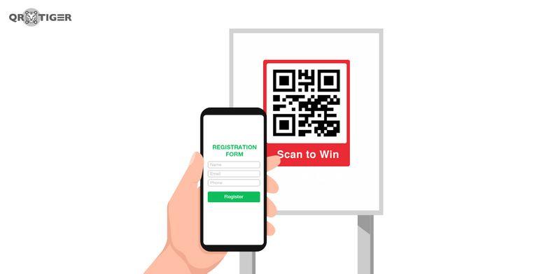 qr codes for contest registration