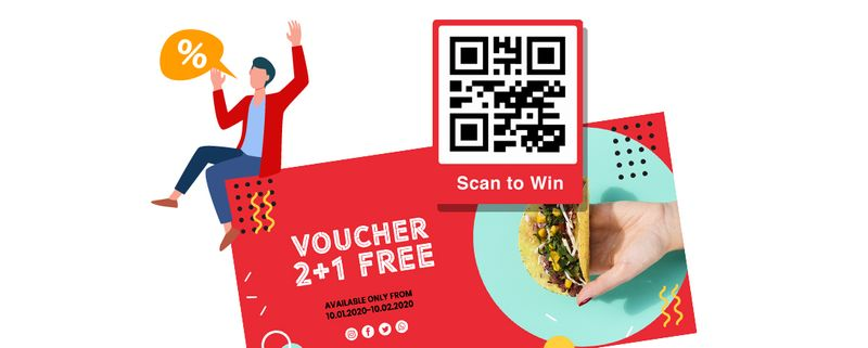 qr code win prize