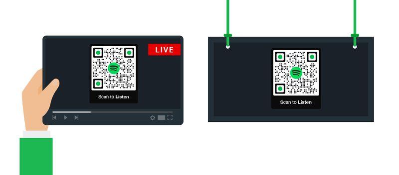spotify qr codes