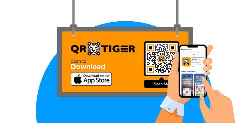 qr code stickers download app