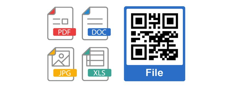 qr code stickers and labels