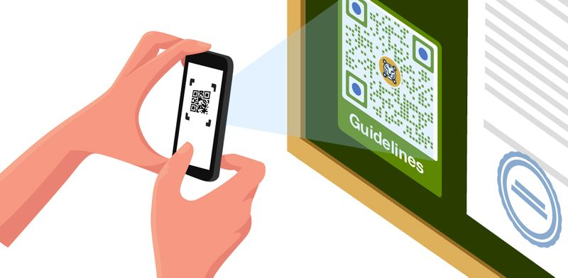 qr codes in the park