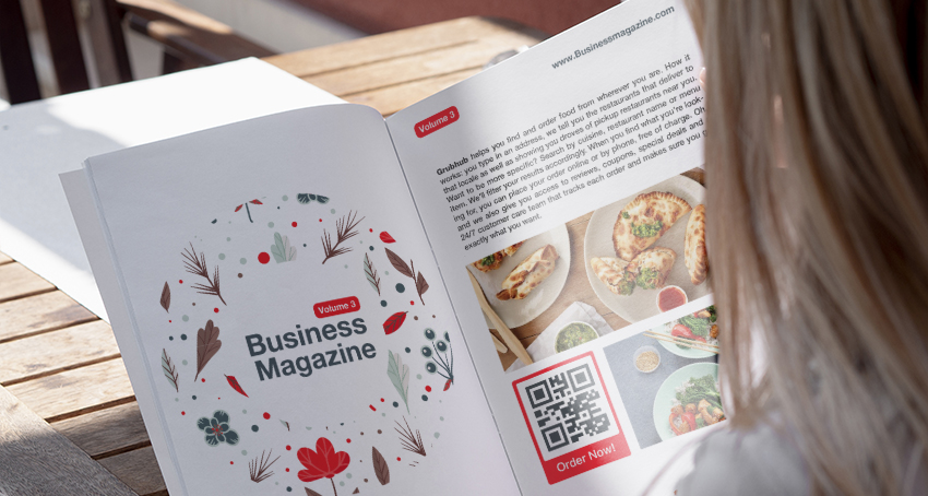 How to use a Grubhub QR code to propel sales